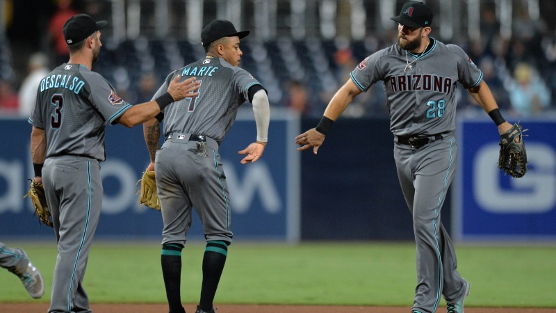 Giants, D-backs Lead Saturday's Most Popular MLB Bets article feature image