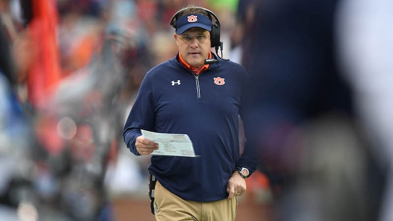Auburn 2018 Betting Preview: Bet Tigers to Miss New Year's Six Bowl article feature image