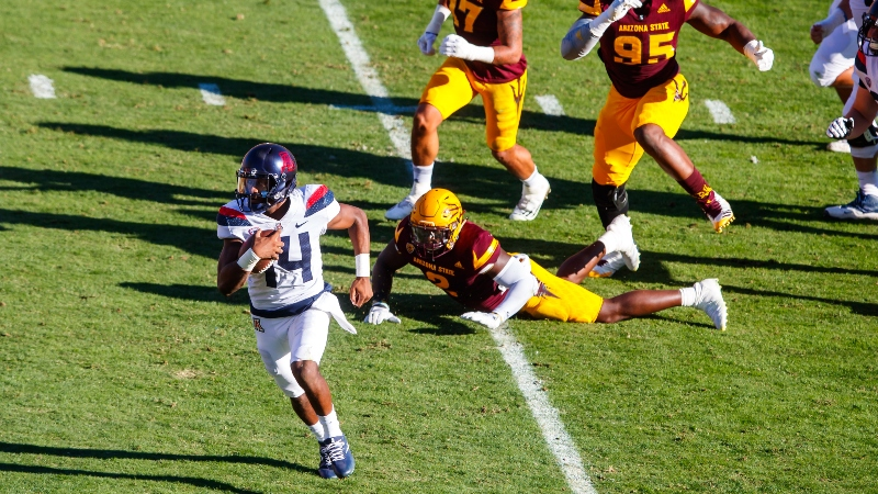 Arizona 2018 Betting Preview: QB Khalil Tate Will Take Over College Football article feature image