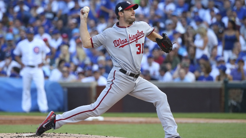 Nationals-Cubs Sunday Night Baseball Betting Preview: Scherzer Returns to Wrigley article feature image