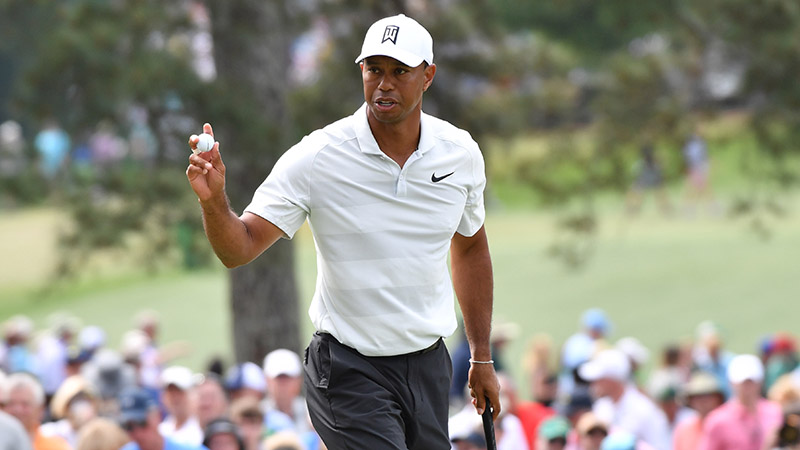 2019 Masters Odds: Tiger Woods, Jordan Spieth Among Betting Favorites article feature image