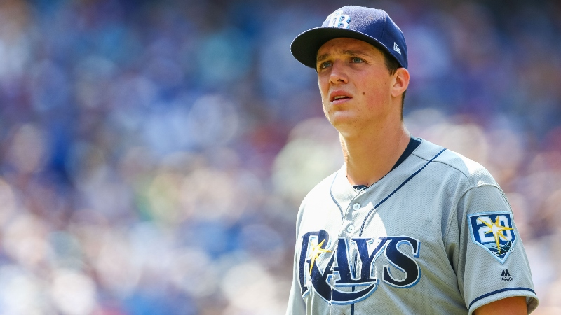Saturday's MLB Over/Under: Can Tyler Glasnow Slow Down the Red Sox? article feature image