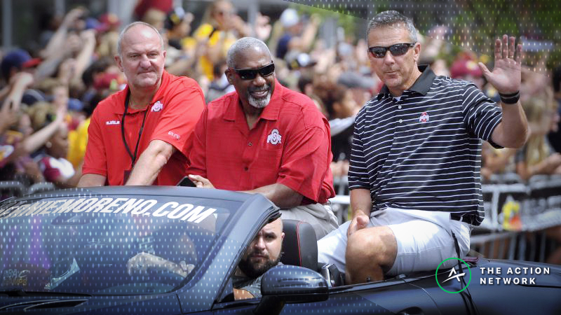 Why Oddsmakers Won't Miss Urban Meyer at Ohio State article feature image