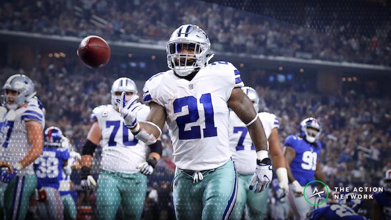 Best Week 15 NFL Player Props: Bank Ezekiel Elliott's Pass-Catching Ability article feature image