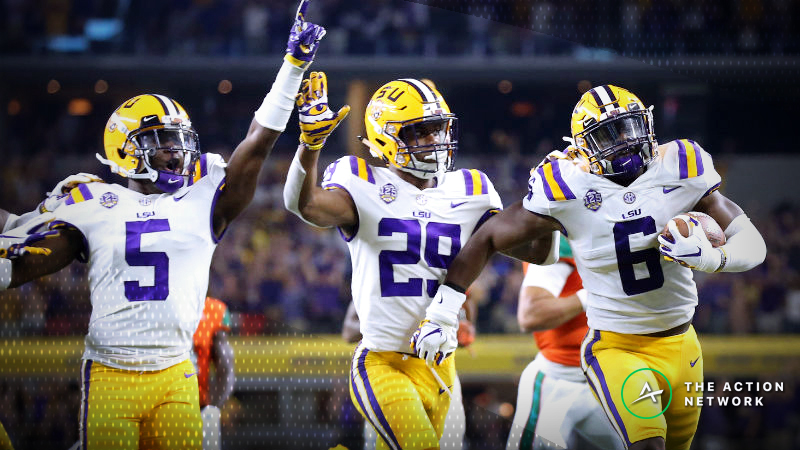 Late Sharp Action Causes Line Move in Alabama-LSU article feature image