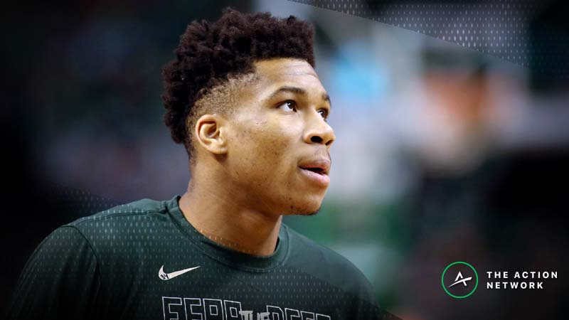 Giannis Antetokounmpo Healthy Favorite in Latest NBA MVP Odds article feature image