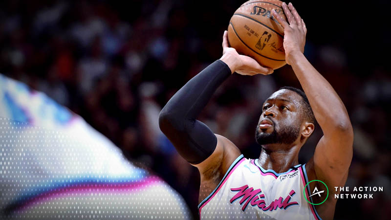 Tuesday's Best NBA Player Props: Betting Dwyane Wade and Emmanuel Mudiay Points article feature image