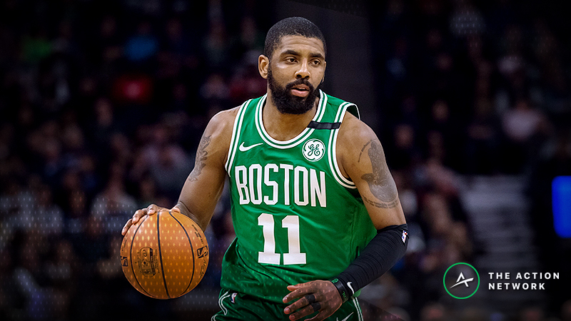 Friday's Best NBA Player Props: Betting Kyrie Irving Points, More article feature image