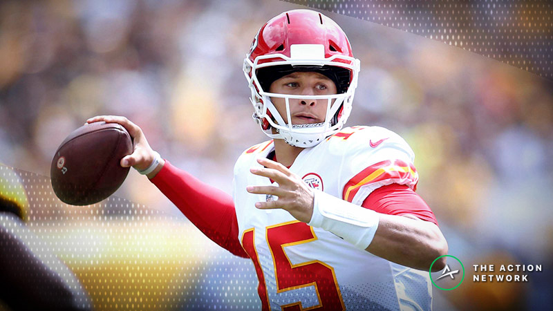 Even on Good Days, Vegas Struggling to Keep up With Chiefs, Too article feature image