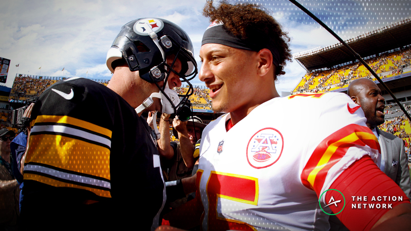 NFL MVP Odds: Mahomes Lurking Among Favorites After Record Start article feature image
