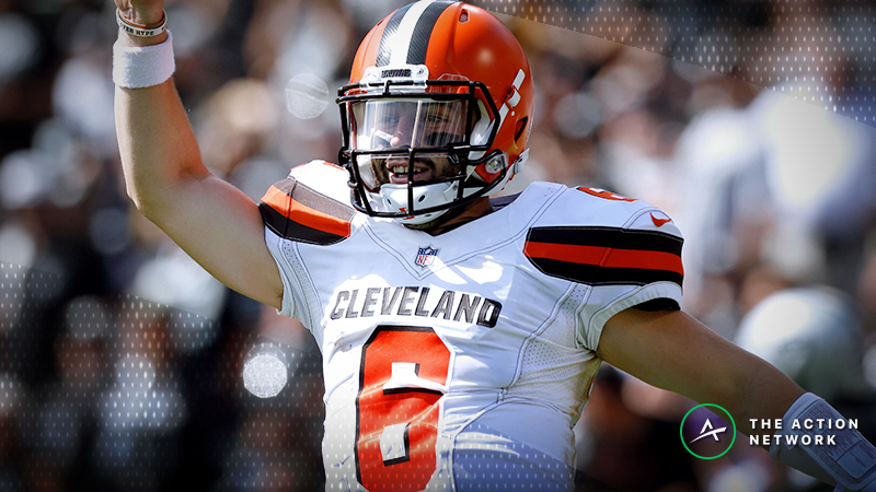Top NFL Week 12 Fantasy Football Performers: Baker Mayfield and the Browns Look Dangerous, More article feature image