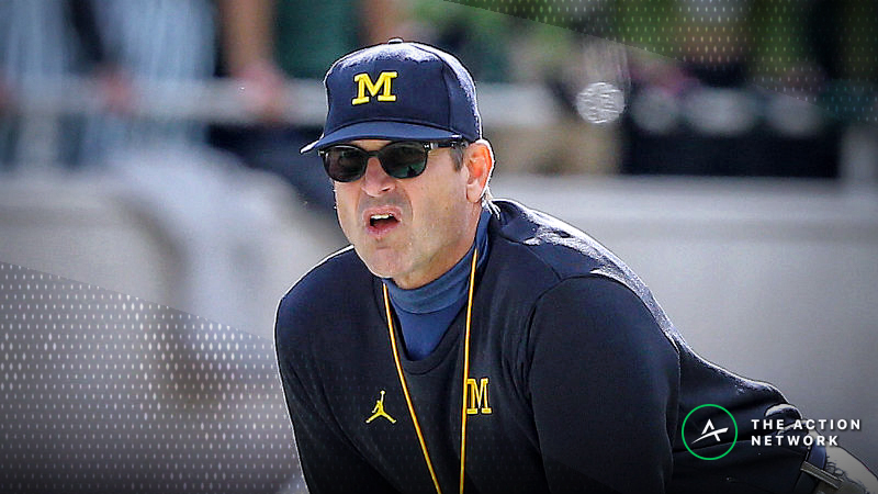 Michigan Favored Over Ohio State in Early College Football Week 13 Lines article feature image