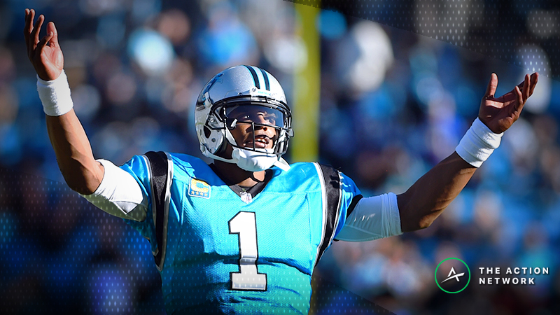 NFL Week 9 Fantasy QB Breakdown: Cam Newton Is a Cash-Game Lock article feature image