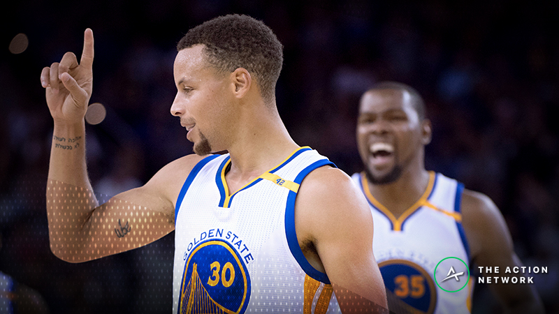 Raptors-Warriors Betting Guide: Historical Trends Favor Golden State article feature image
