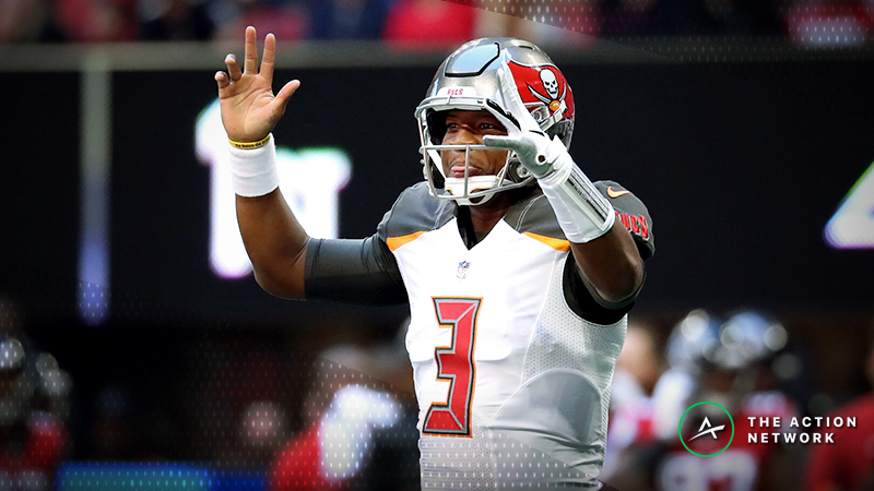 NFL Week 12 Fantasy QB Breakdown: Jameis Winston Is a Cash-Game Play article feature image