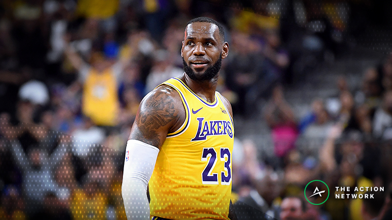NBA Injury Report: Betting, DFS Impact of James Harden, LeBron James Injuries article feature image