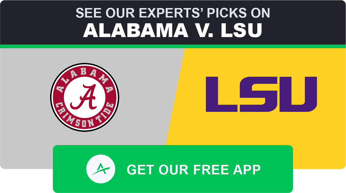 Alabama-lsu betting line week 10 betting preview