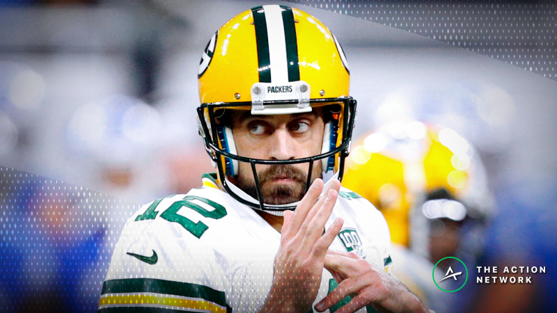 Best Packers-Patriots SNF Player Props: The Rodgers, Brady Bets with Value article feature image