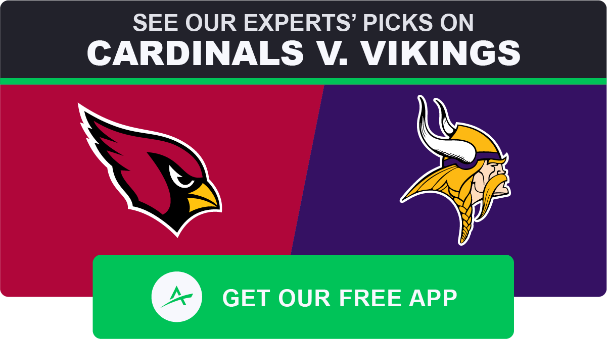 Cardinals vikings betting line sports betting scams