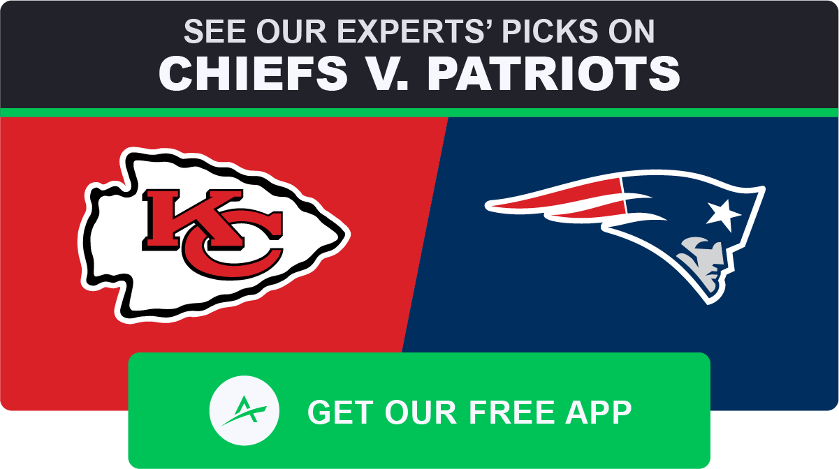 Chiefs-Patriots Over/Under Among Highest Ever | The Action