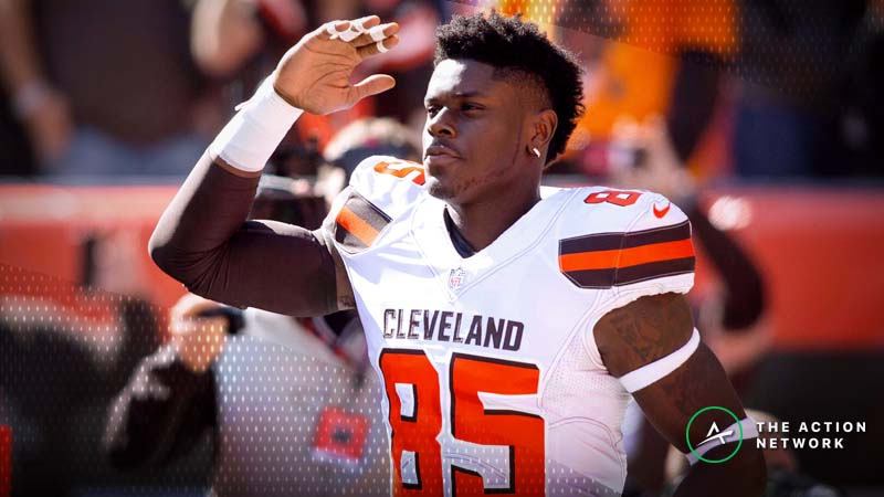 Fantasy Football TE Report: David Njoku Primed to Rebound, Plus Other Week 9 Notes article feature image