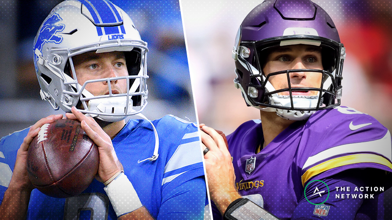 Lions-Vikings Betting Preview: Keep an Eye on Key Injuries article feature image