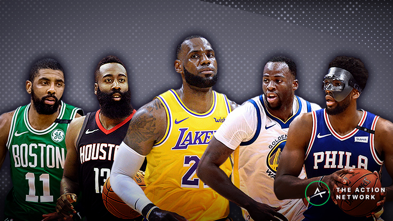 Ranking All 30 Nba Projected Starting Lineups For The 2018 19 Season The Action Network