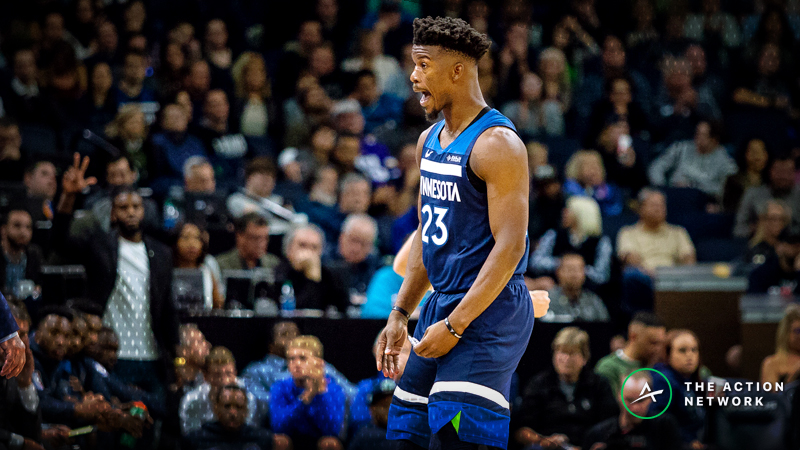 Wolves-Warriors Betting Guide: How Jimmy Butler's Return Would Impact Over/Under Pick article feature image