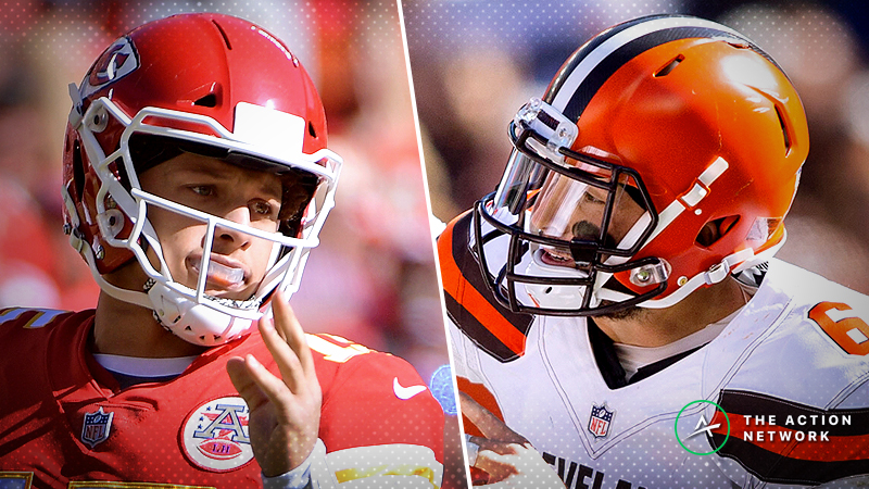 Chiefs-Browns Betting Preview: Sharps Make Their Choice Clear article feature image