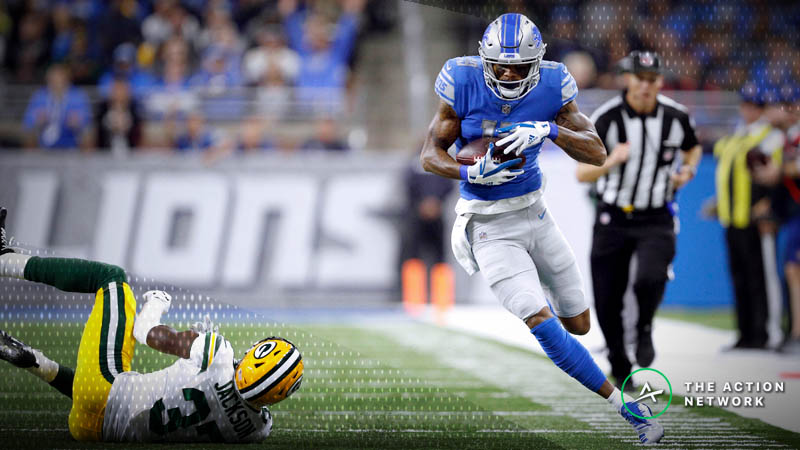 Fantasy Football WR Report: Kenny Golladay's Bounce-Back, Plus Other Week 9 Notes article feature image