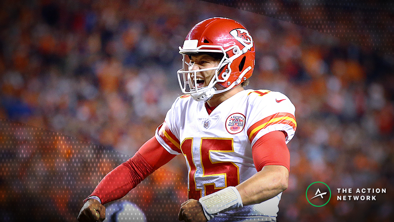 Updated NFL MVP Odds: Mahomes Now the Odds-On Favorite article feature image