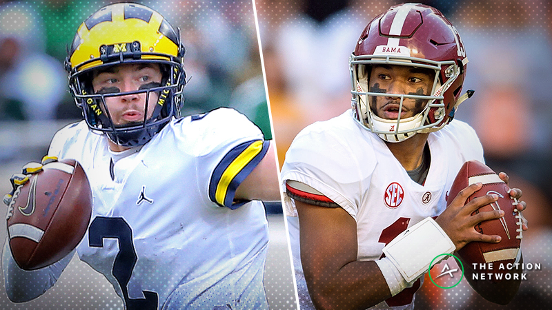 Sportsbooks Post CFP Point Spreads for Alabama vs. Clemson, Notre Dame, Michigan article feature image