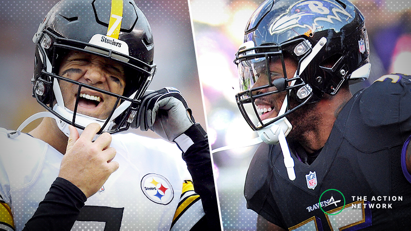 Steelers-Ravens Betting Preview: Will Big Ben Get Revenge in Baltimore? article feature image