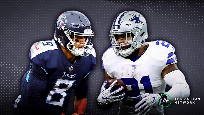 Titans-Cowboys MNF Betting Preview: Bank on a Low-Scoring Slugfest? article feature image