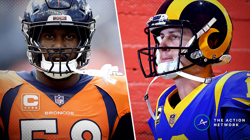 Week 9 NFL Matchup Manifesto: Broncos, Rams Have Huge Advantages article feature image
