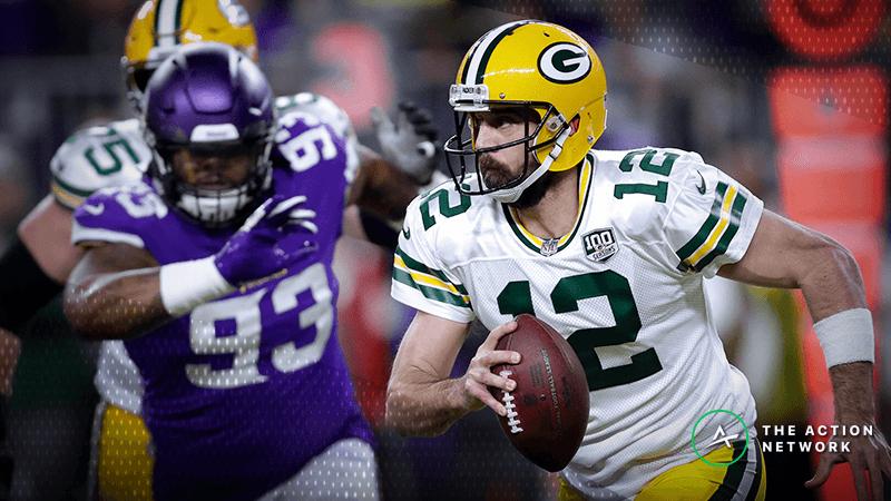 NFL Bad Beats, Week 12: Late Penalty Burns Vikings First Half Bettors vs. Packers article feature image