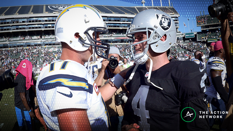 Chargers-Raiders Betting Preview: Are the Chargers Being Overvalued? article feature image