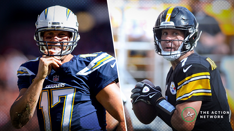 Chargers-Steelers SNF Betting Preview: Fade the Public with This Over/Under? article feature image