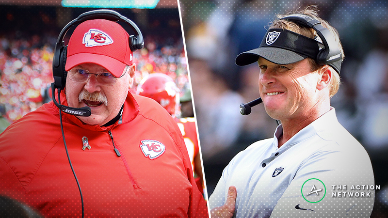 Chiefs-Raiders Betting Preview: Will KC Fail to Cover Again as Massive Favorites? article feature image