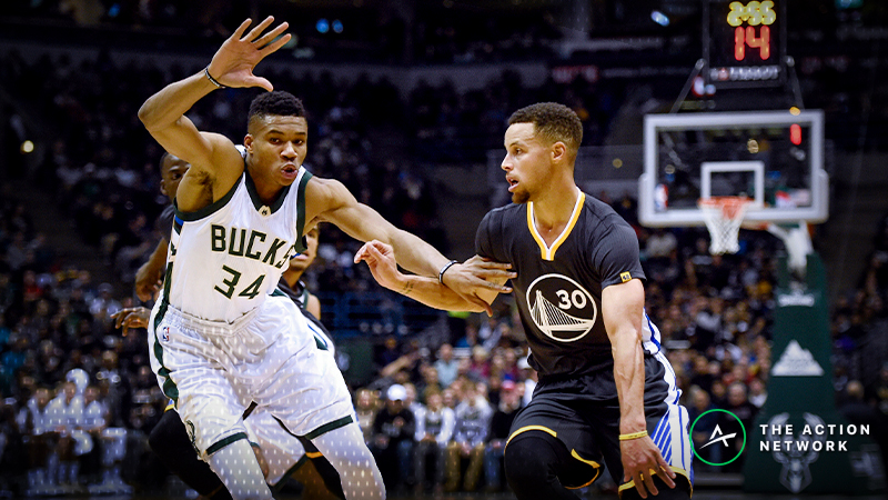Bucks-Warriors Betting Guide: Debating the High Over/Under article feature image