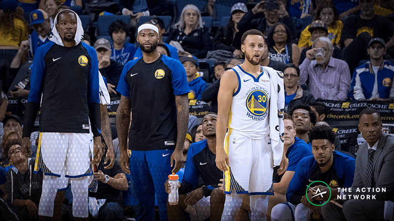 Betting on the Warriors to Bounce Back Tonight? History Isn't on Your Side article feature image