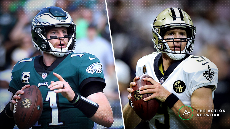 NFL Sharp Report: Pros Betting Eagles-Saints, Two Other Week 11 Games article feature image