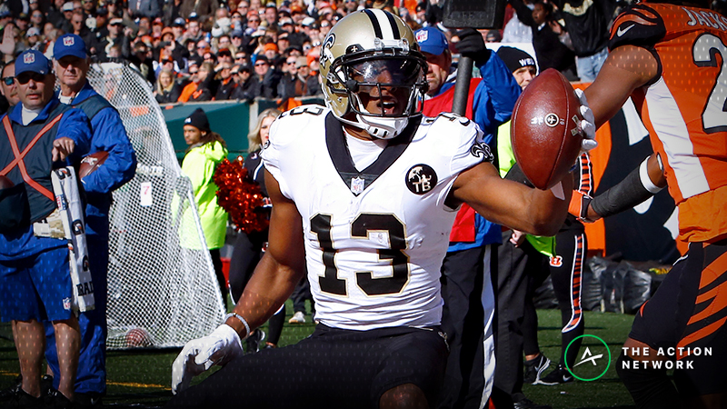 Week 11 Fantasy Football Half-Point PPR Rankings: WR article feature image