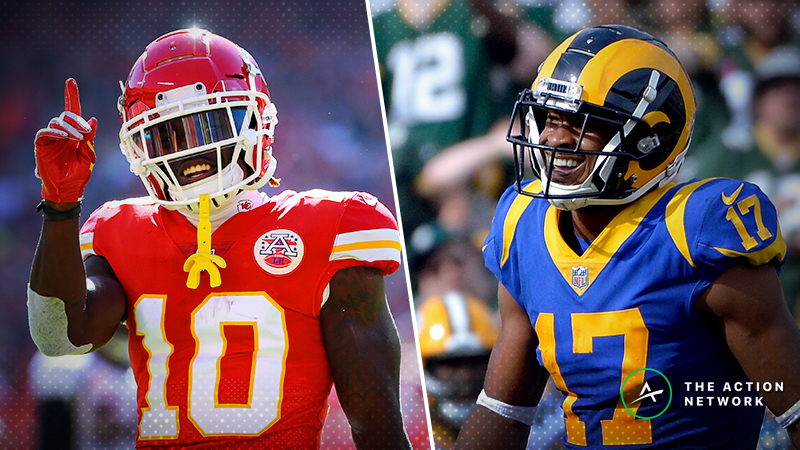 Week 11 Fantasy Football PPR Rankings: WR article feature image