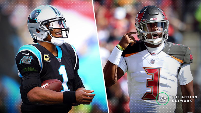 Nascar Live Stream Free >> Fantasy Football QB Report: Cam Newton, Jameis Winston, More Week 13 Starts | The Action Network