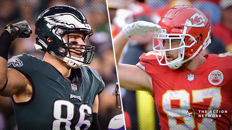 Guide to Fantasy Football's Top TEs Entering Week 11 article feature image