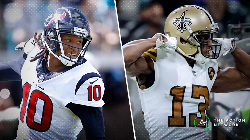 Fantasy Football WR Report: DeAndre Hopkins, Michael Thomas, More Week 13 Starts article feature image