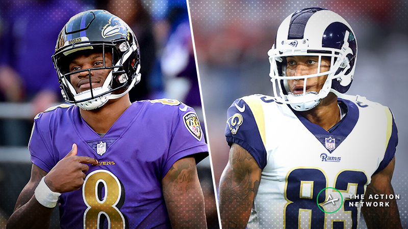 Fantasy Football Waiver Wire Targets: Lamar Jackson, Josh Reynolds, More Players to Buy Before Playoffs article feature image