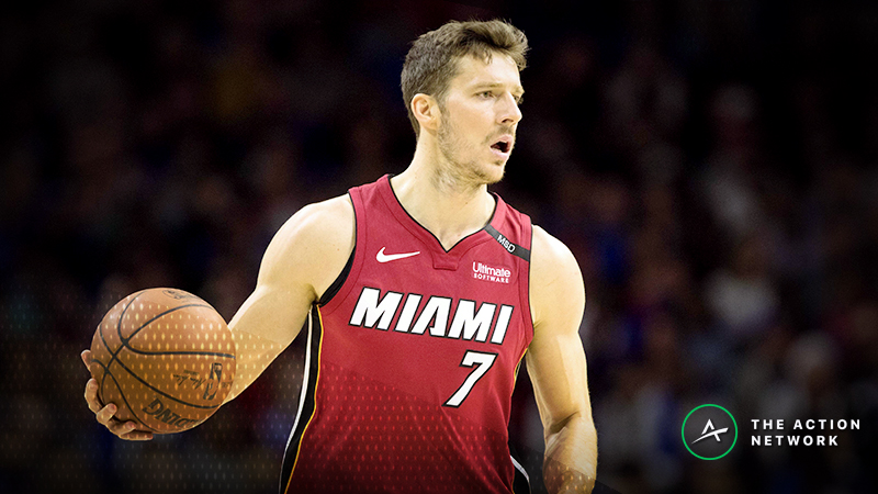 NBA Injury Report: Betting, DFS Impact of Goran Dragic, Dwight Howard Injuries article feature image