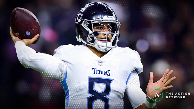 Jets-Titans Betting Preview: Is Tennessee Being Way Overvalued? article feature image